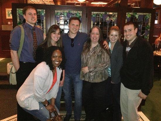Back: Rick, Melody, Nikolai, Me, Heather, Darrin Front: Andridia