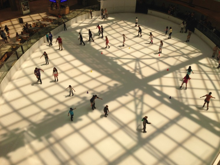 Ice skating rink - Dallas
