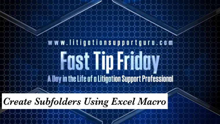 FTF-Create-Subfolders-Using-Excel-Macro