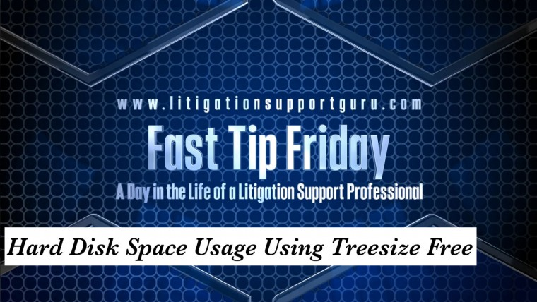 FTF-Hard-Disk-Space-Usage-Using-Treesize-Free