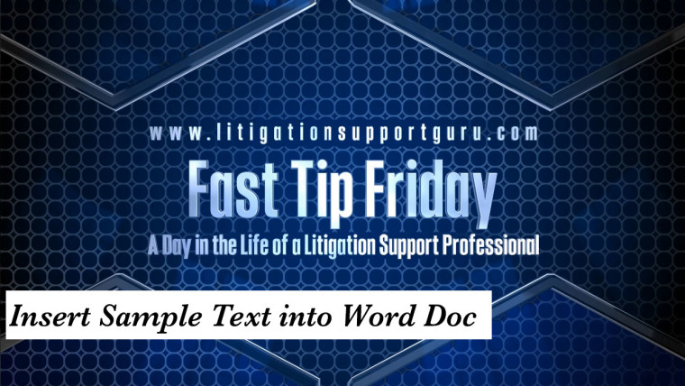 FTF-Insert-Sample-Text-into-Word-Doc