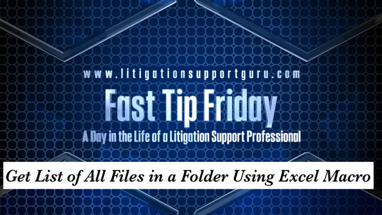 FTF-Get-List-of-All-Files-in-a-Folder-Using-Excel-Macro