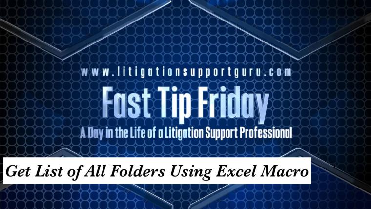 FTF-Get-List-of-All-Folders-Using-Excel-Macro