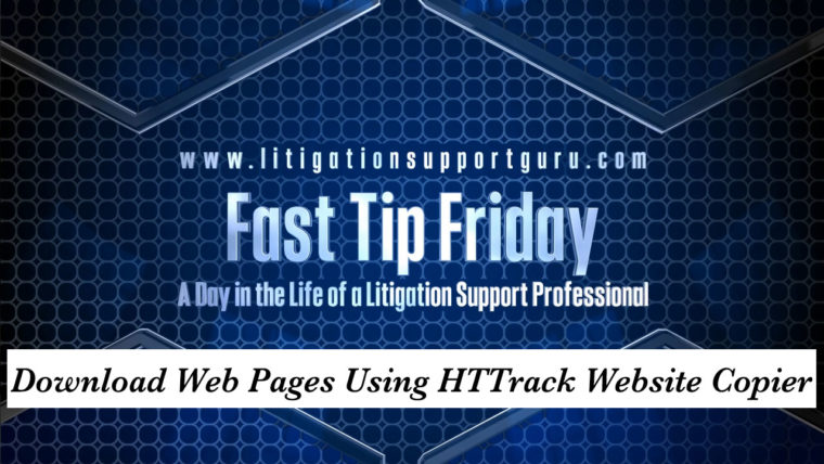 FTF-Download-Web-Pages-Using-HTTrack-Website-Copier